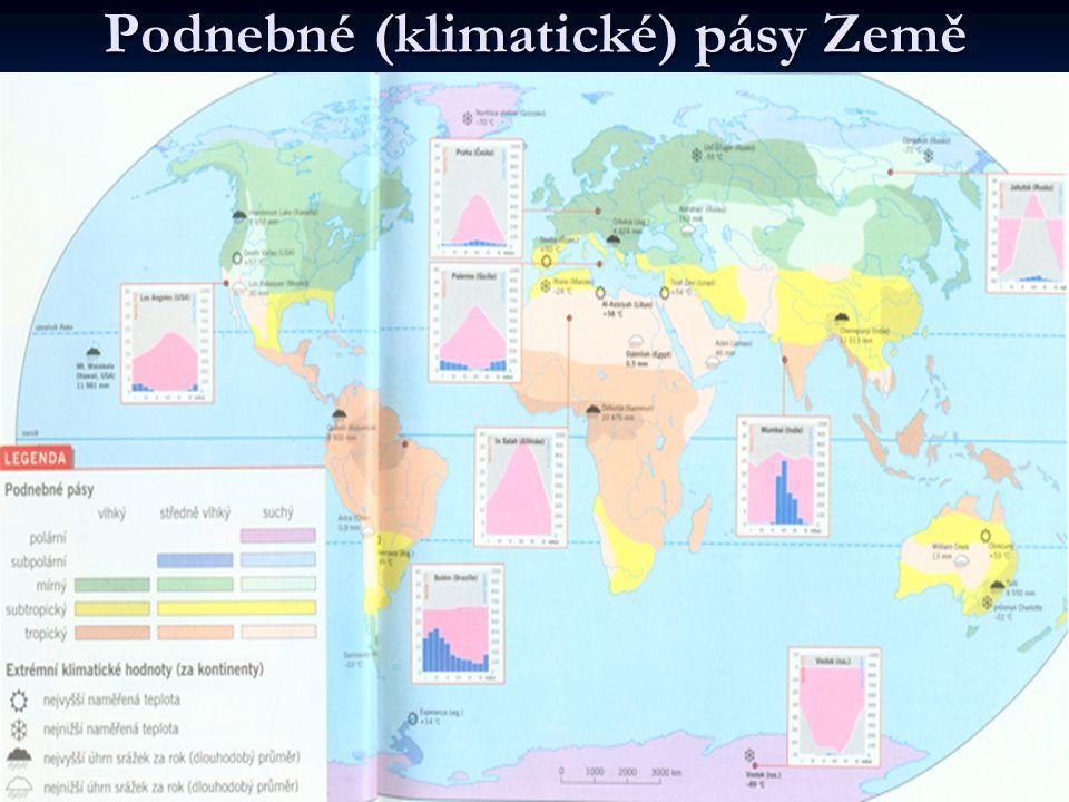 Podnebné (klimatické) pásy Země