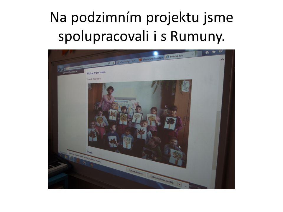 Na podzimním projektu jsme spolupracovali i s Rumuny.