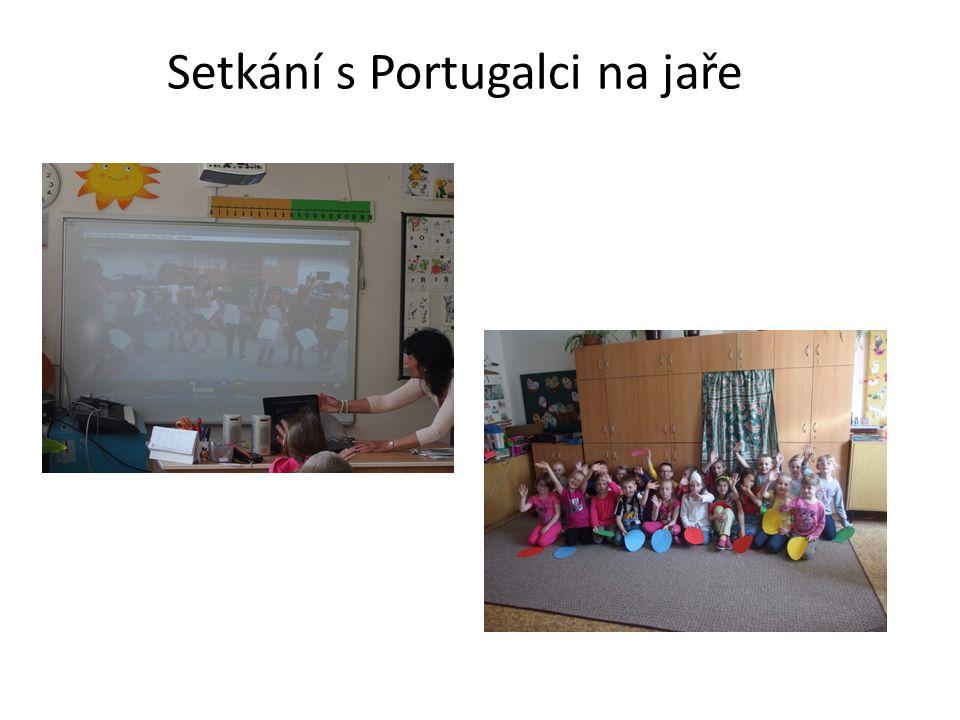 Setkání s Portugalci na jaře