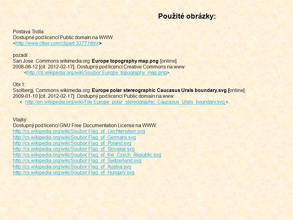 Postava Trolla: Dostupné pod licencí Public domain na WWW: http://www.clker.com/clipart-3377.html pozadí : San Jose.