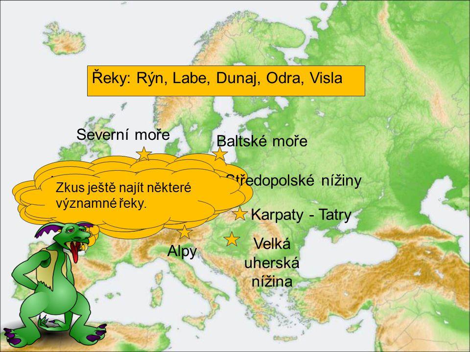 Posledním regionem Evropy, se kterým se seznámíme je STŘEDNÍ.