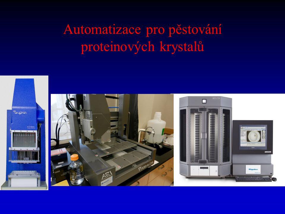 Automatizace pro pěstování proteinových krystalů