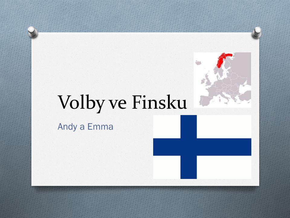 Volby ve Finsku Andy a Emma