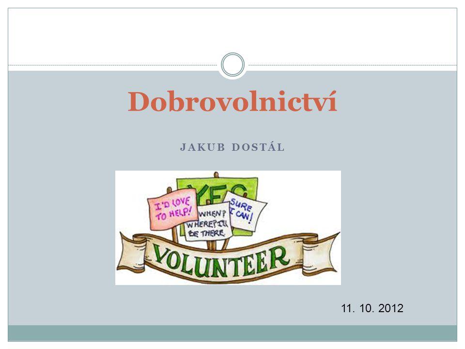 12 Zákon o dobrovolnické službě Zákon zavádí do českého právního řádu několik zcela nových pojmů.