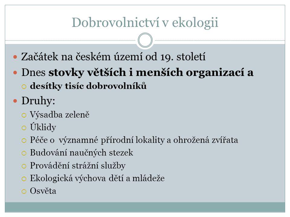 Začátek na českém území od 19.