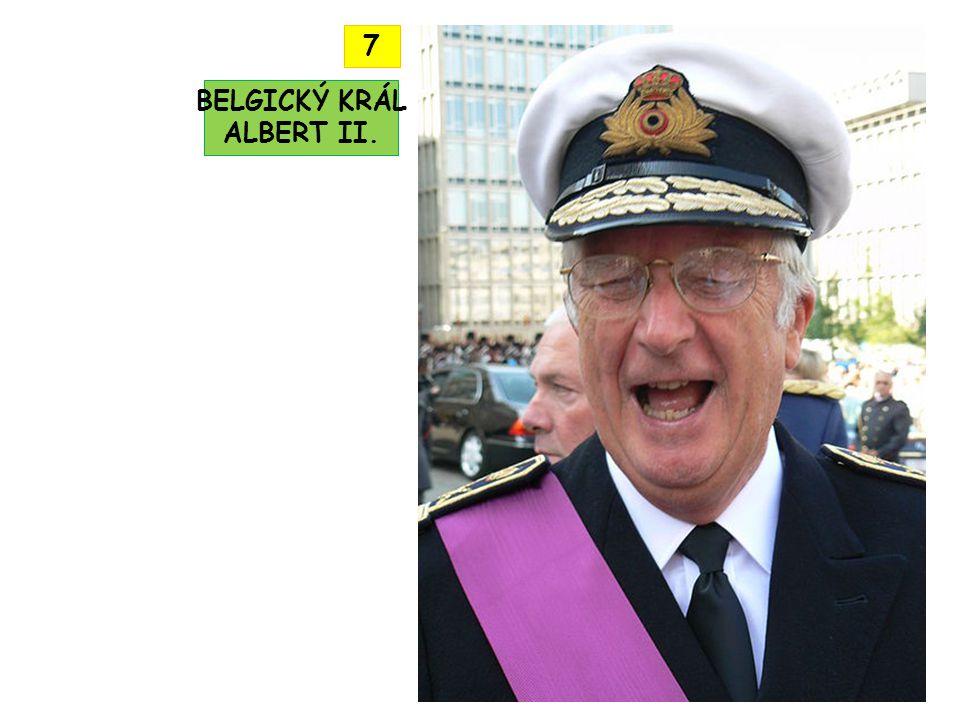 BELGICKÝ KRÁL ALBERT II. 7