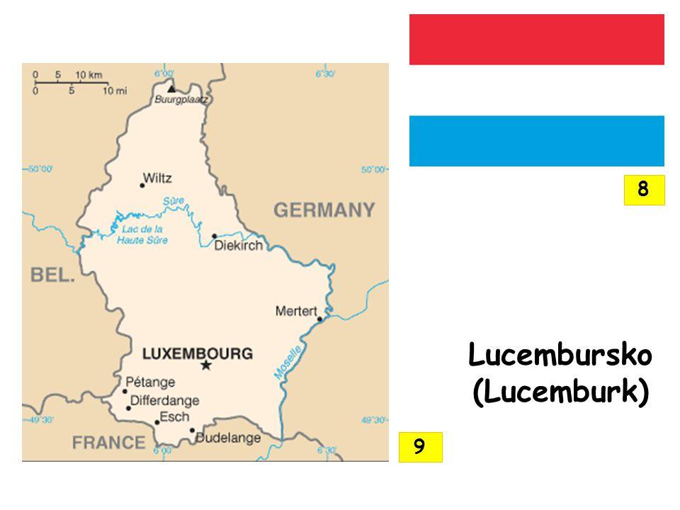 Lucembursko (Lucemburk) 8 9