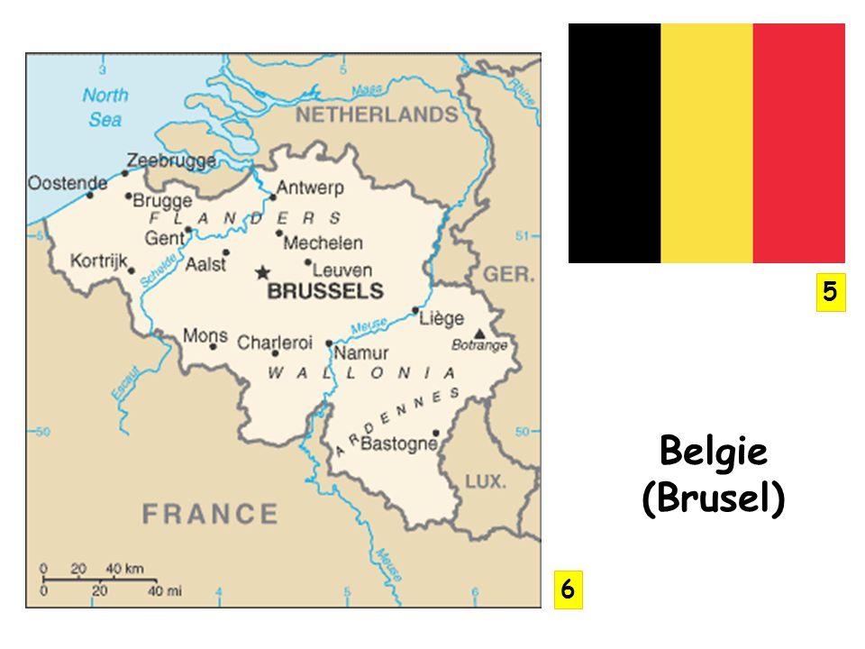 Belgie (Brusel) 5 6