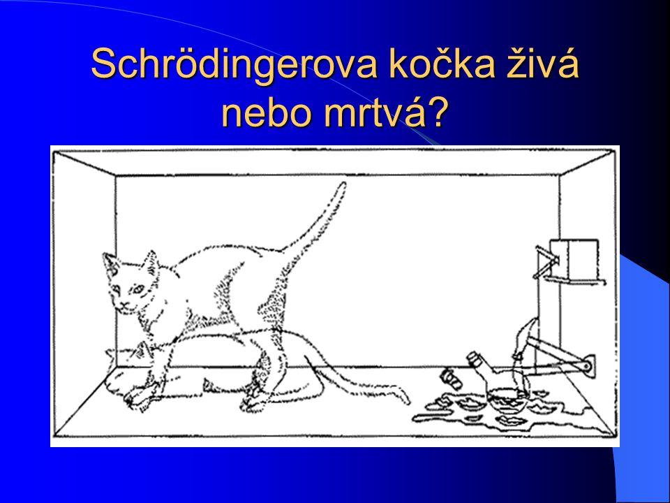 Schrödingerova kočka živá nebo mrtvá?