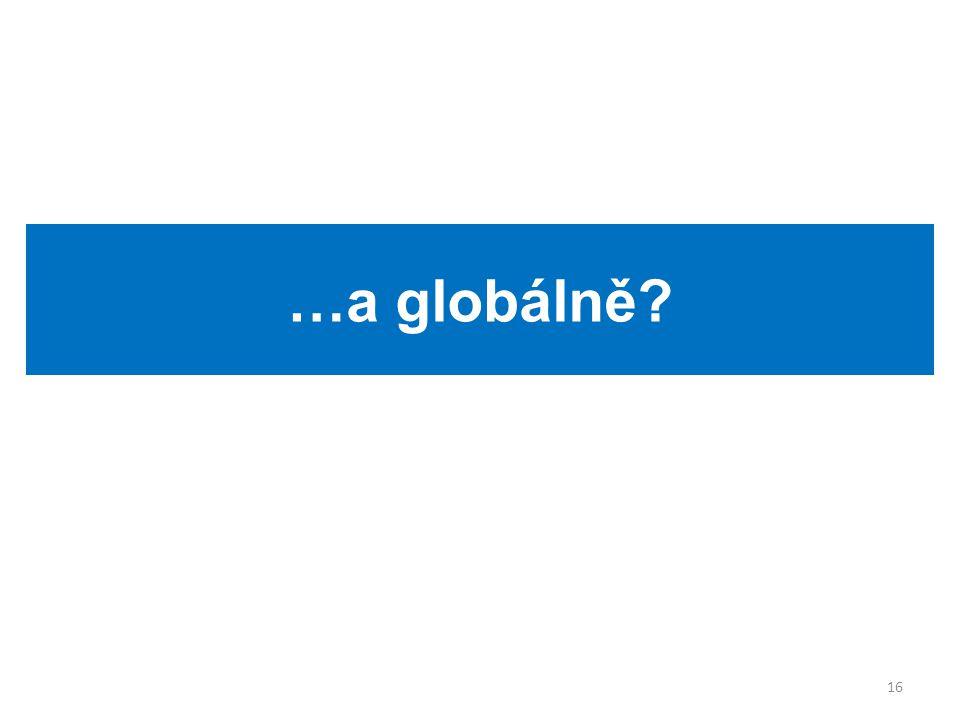 …a globálně 16