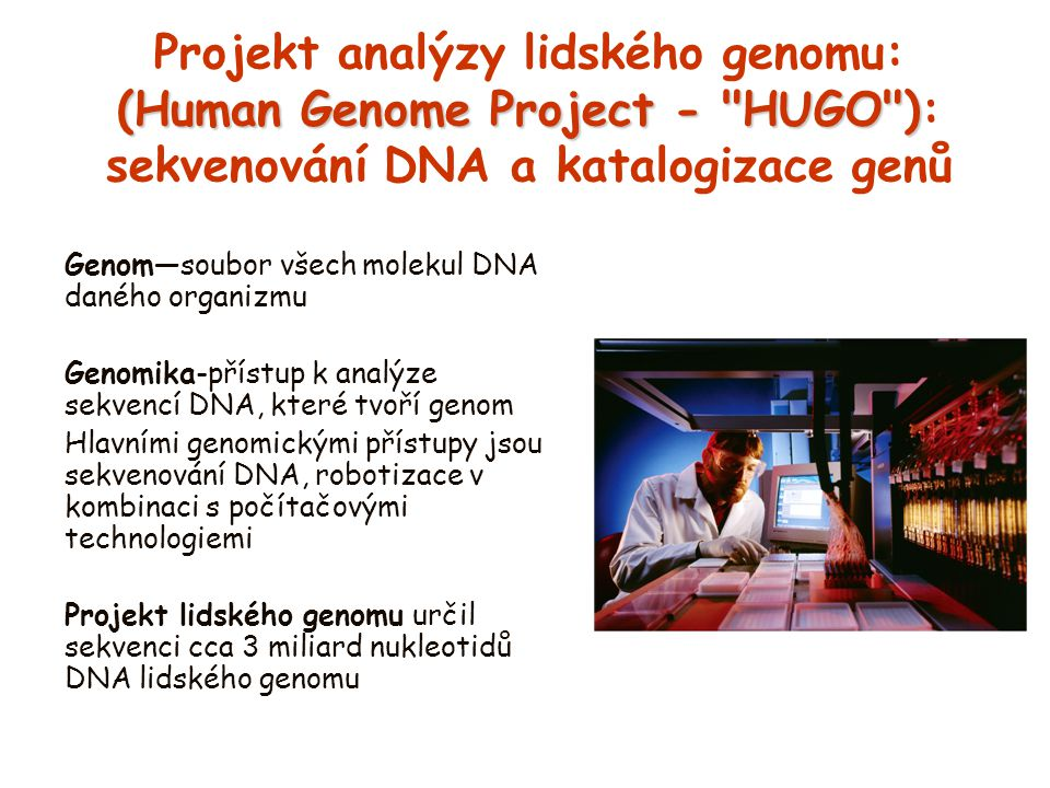 (Human Genome Project -