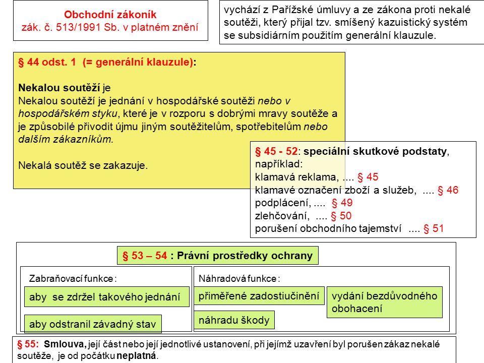 Nový občanský zákoník zák.č. 89/2012 Sb. vychází z PÚ, ze ZPNS a ze současného znění obch.