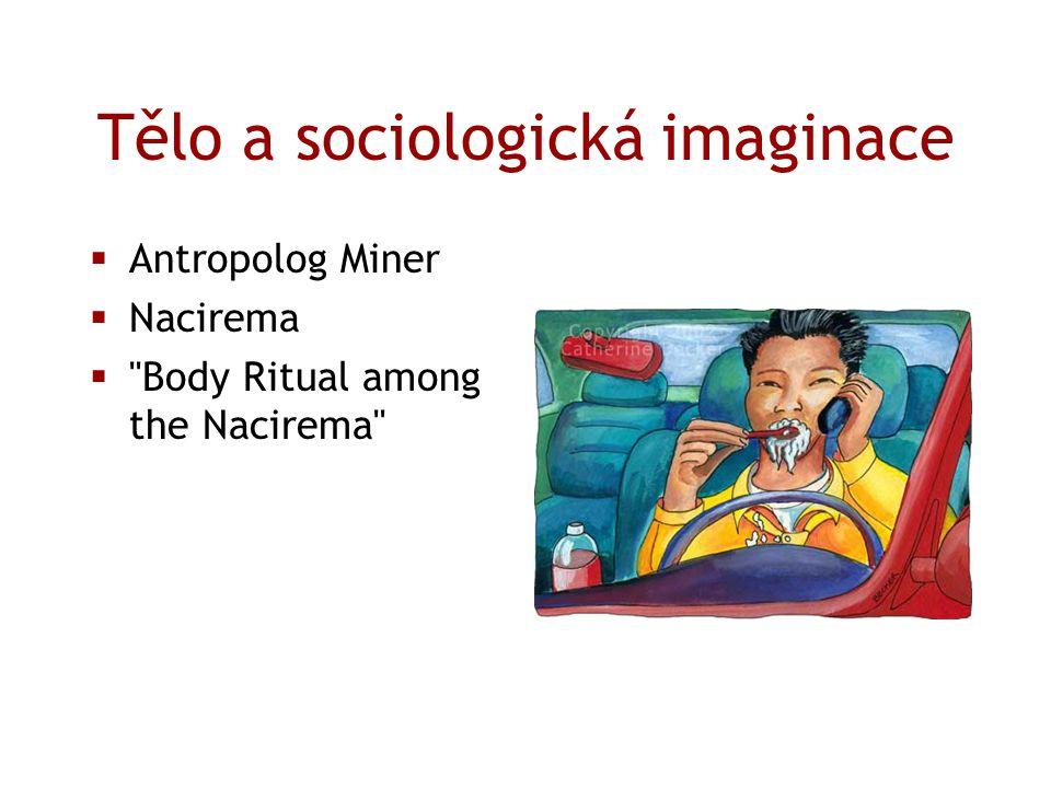 Tělo a sociologická imaginace  Antropolog Miner  Nacirema 