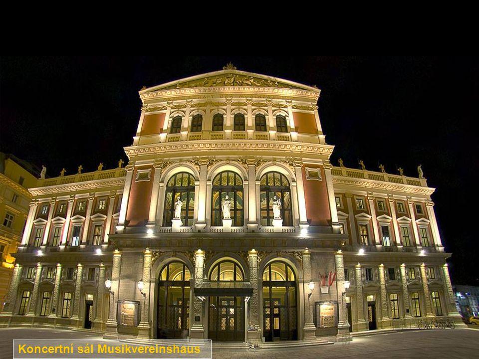 Koncertní sál Musikvereinshaus