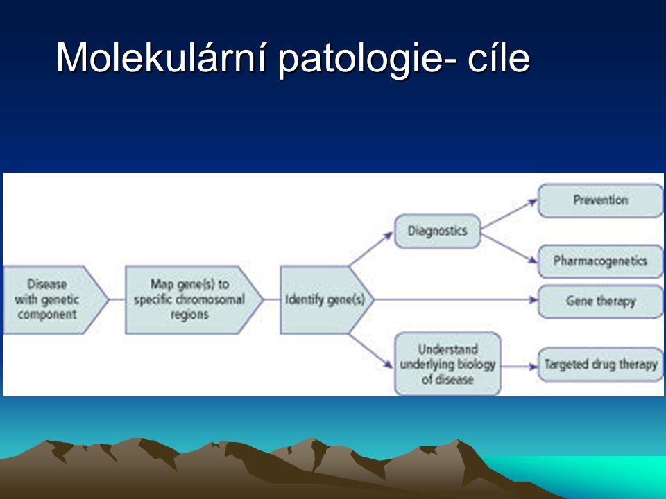 Molekulární patologie- cíle