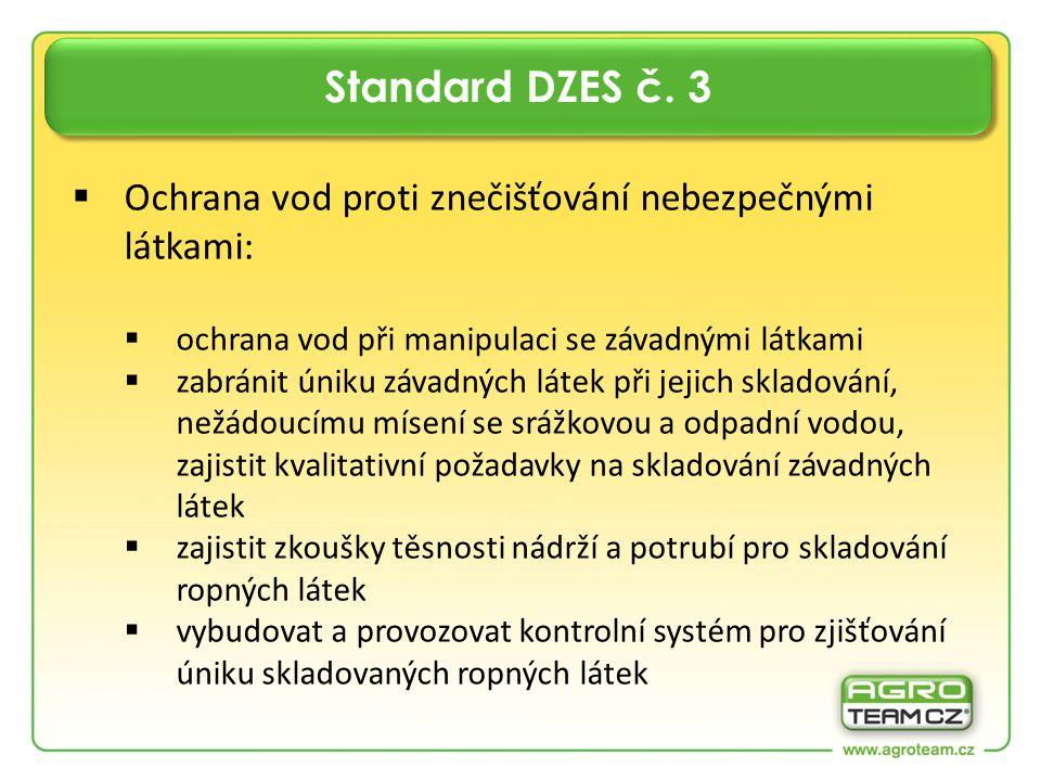 Standard DZES č.