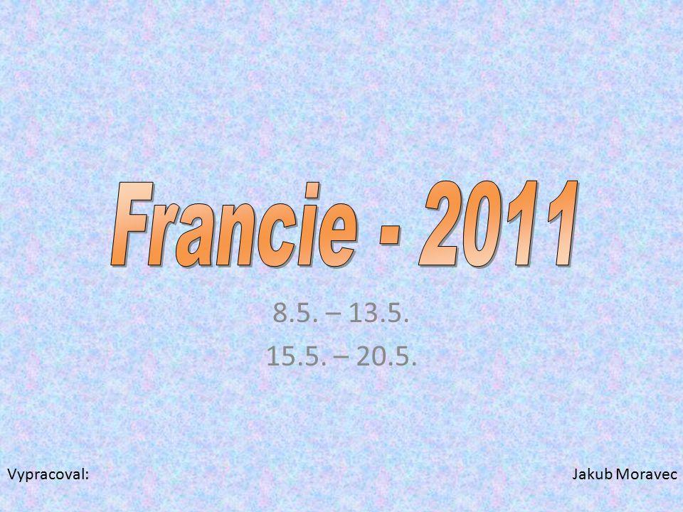8.5. – 13.5. 15.5. – 20.5. Vypracoval: Jakub Moravec