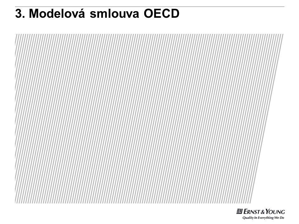 3. Modelová smlouva OECD