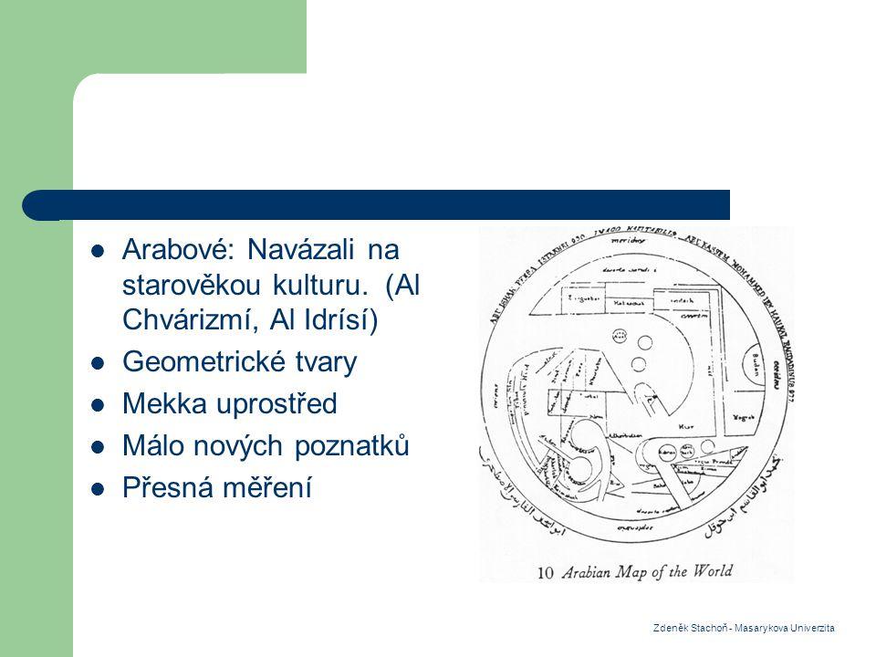 Arabové: Navázali na starověkou kulturu.