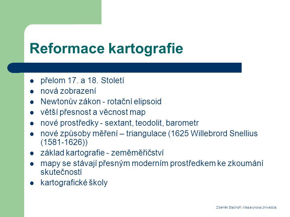 Reformace kartografie přelom 17.a 18.