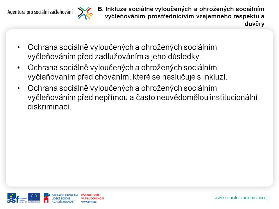 www.socialni-zaclenovani.cz Harmonogram 1.první vlna fichí do 9.