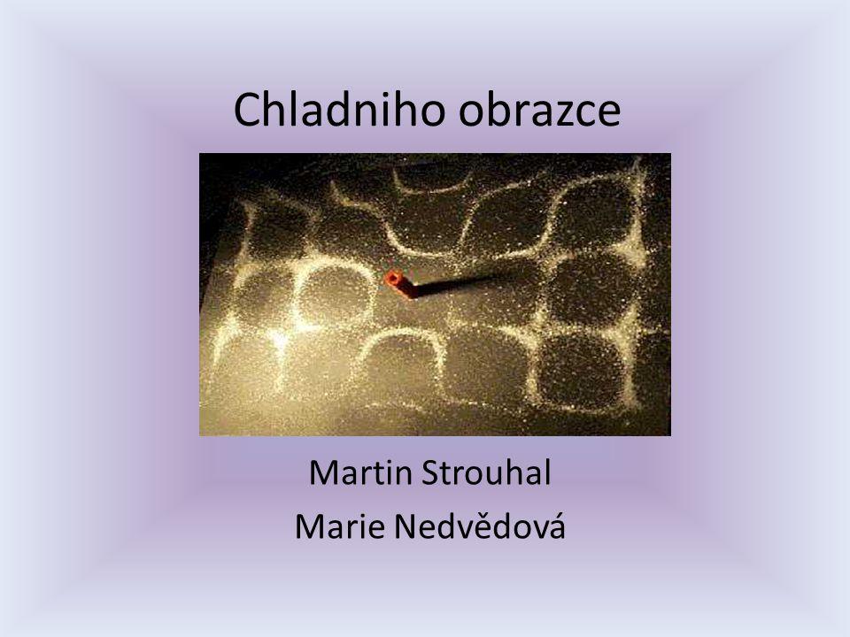 Chladniho obrazce Martin Strouhal Marie Nedvědová