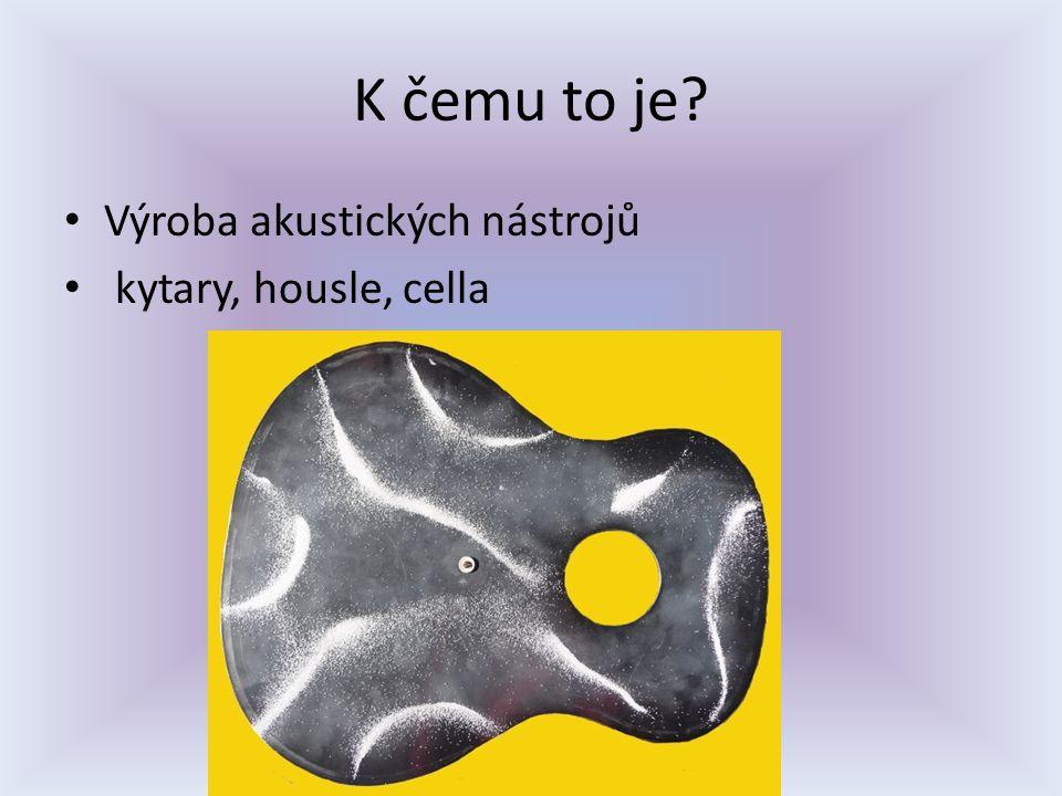 Speciální nástroje -Armonica -Chladni s Euphonium -Cristal baschet