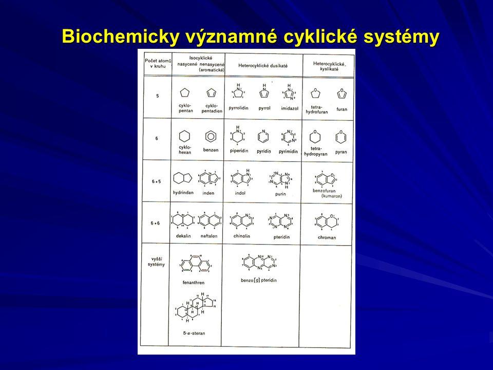 Biochemicky významné cyklické systémy