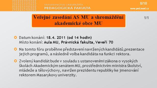 www.ped.muni.cz  Od 20.4.2011 zahajujeme provoz filmového klubu naší fakulty.