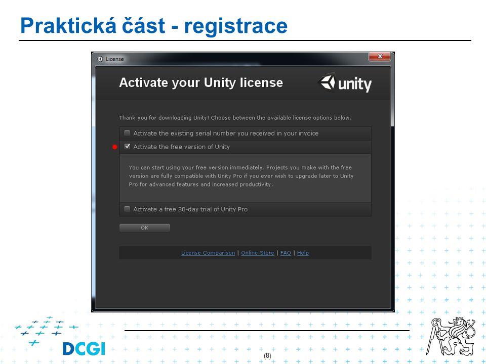 Nastavení projektu - verzování U placené verze je dostupný Asset Server.