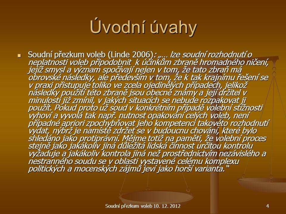 Registrace kandidátů a stran Prezidentské volby dle § 65 zákona č.