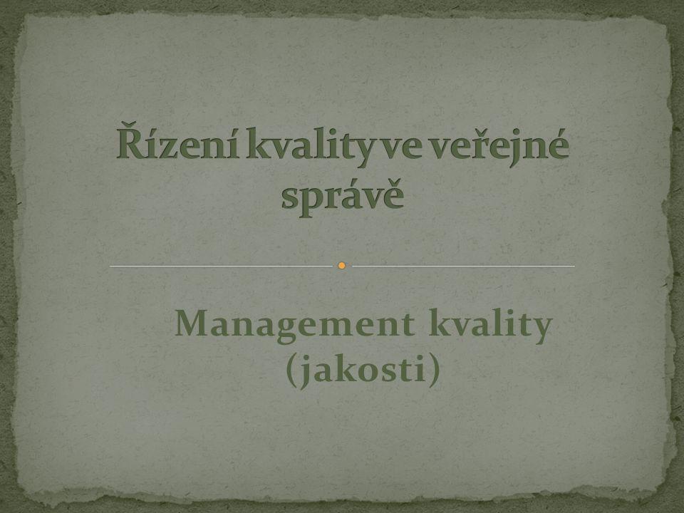 Management kvality (jakosti)