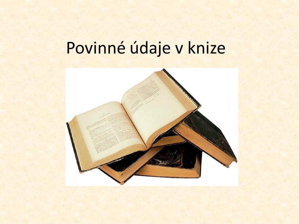 Patitul -První stránka v knize před hlavním titulem - Obsahuje zmenšené jméno autora a název díla - Může se připsat edice nebo přidat grafika Božena Němcová Babička
