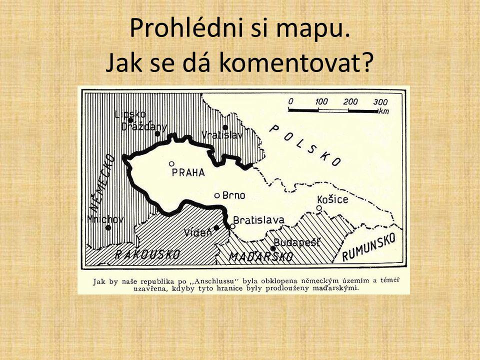 Prohlédni si mapu. Jak se dá komentovat?