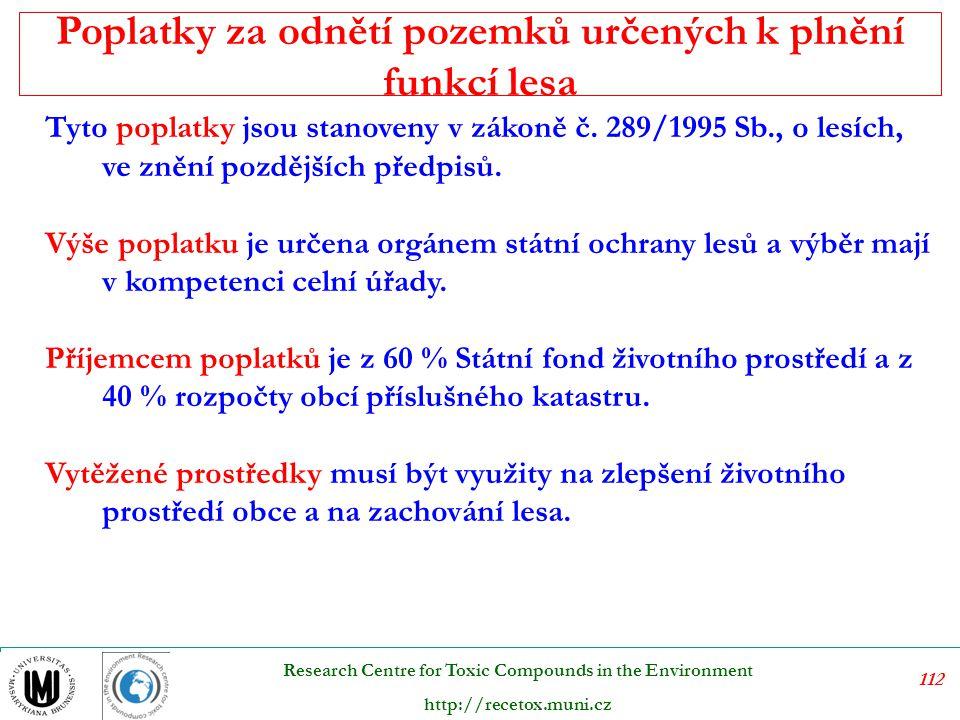 113 Research Centre for Toxic Compounds in the Environment http://recetox.muni.cz Dobývací prostor je zhodnocen pomocí výsledků průzkumu daného naleziště, a sice na základě rozsahu, tvaru a mocnosti hlavního naleziště.