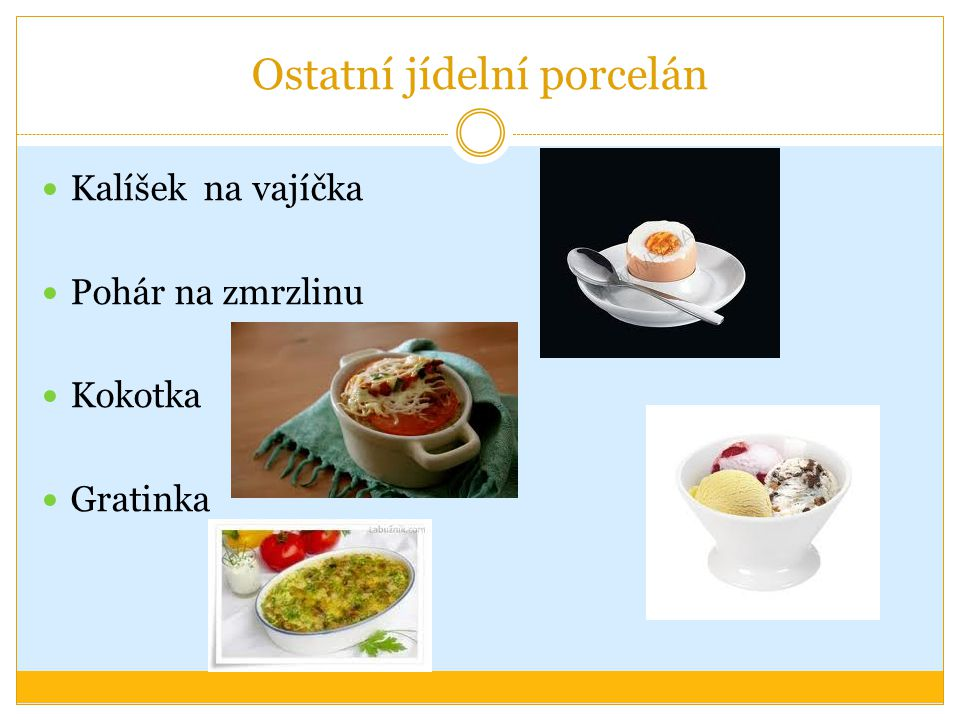 Ostatní jídelní porcelán Kalíšek na vajíčka Pohár na zmrzlinu Kokotka Gratinka