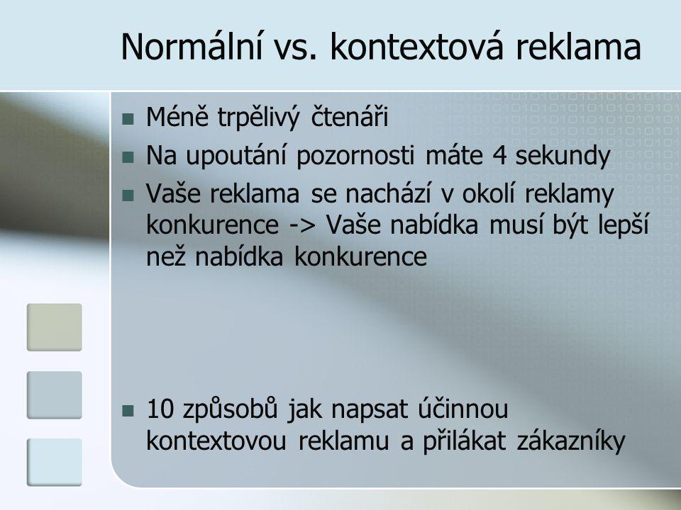 Normální vs.