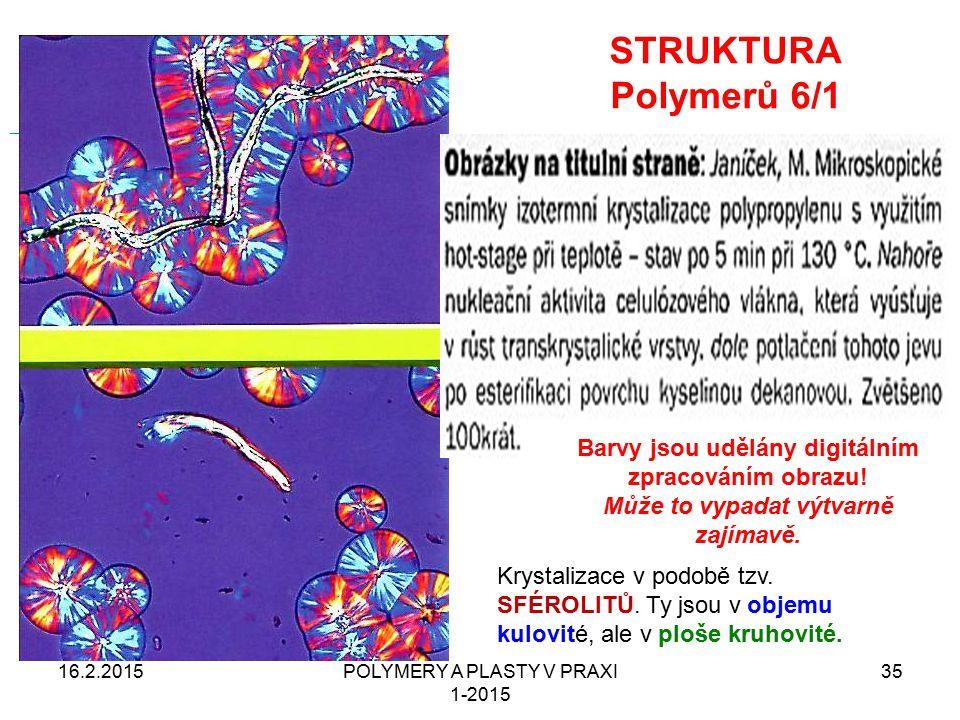 STRUKTURA Polymerů 6/1 16.2.2015POLYMERY A PLASTY V PRAXI 1-2015 35 From Wikipedia, the free encyclopedia Jump to: navigation, searchnavigationsearch
