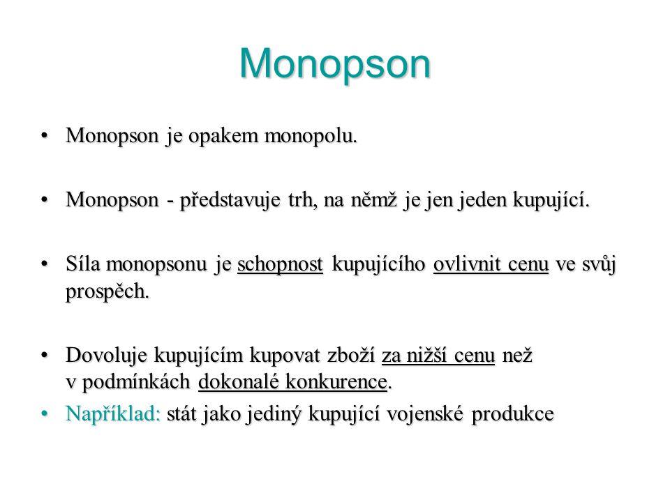 Regulace monopolu V podmínkách monopolu nejsou plně využity zdroje, které má společnost k dispozici a ty, které jsou využívány, jsou využívány málo ef