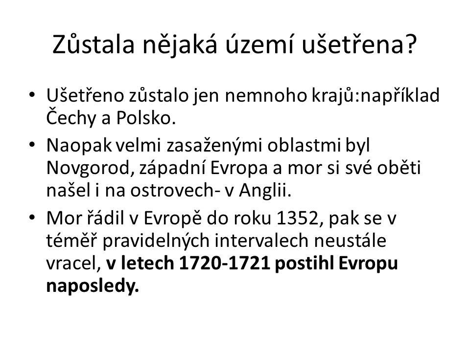 Zůstala nějaká území ušetřena.Ušetřeno zůstalo jen nemnoho krajů:například Čechy a Polsko.