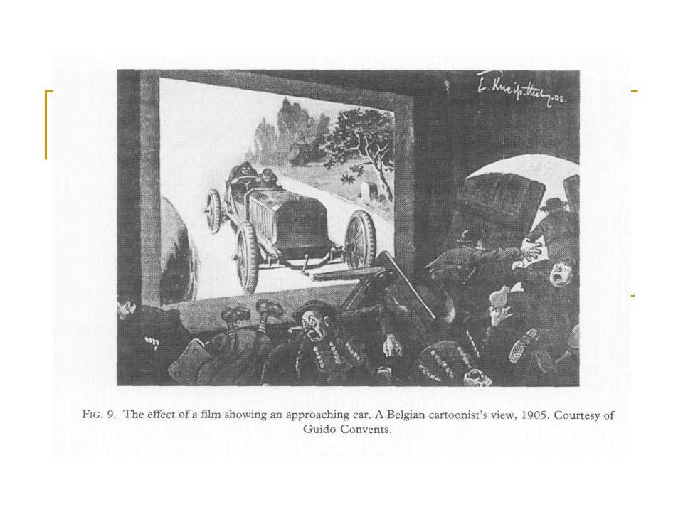 Kinematografie – pro konstruktivisty fascinující díky afinitě s modernitou, podle sovětského vedení: nejvhodnější médium pro zprostředkování a šíření procesu modernizace.