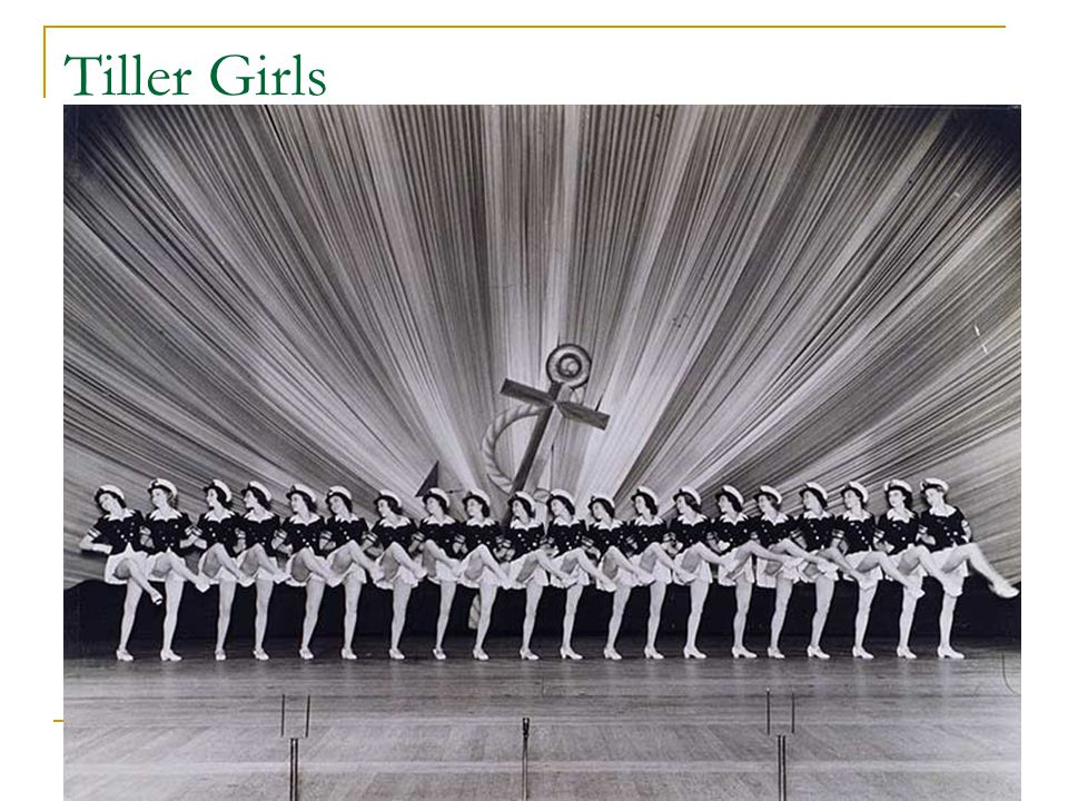 Tiller Girls