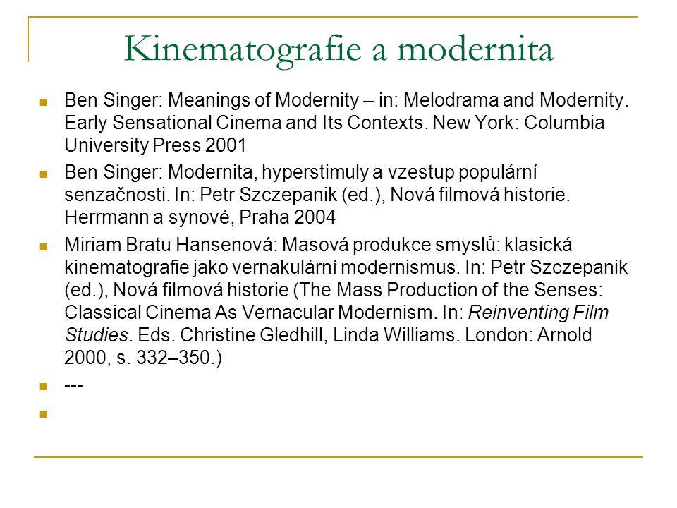 modernita – časový koncept – po předmoderní (tradiční) éře; před postmodernou Modernita, nikoli modernismus Jedno z možných pojetí: modernita – až s proměnou vědecké revoluce do průmyslové revoluce na konci 18.