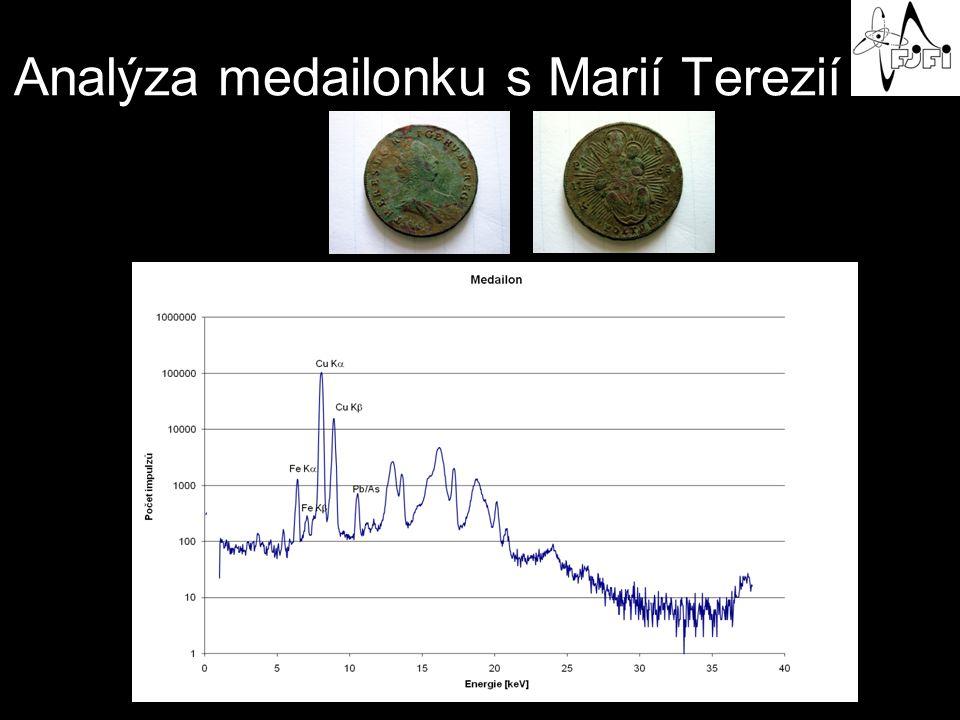 Analýza medailonku s Marií Terezií