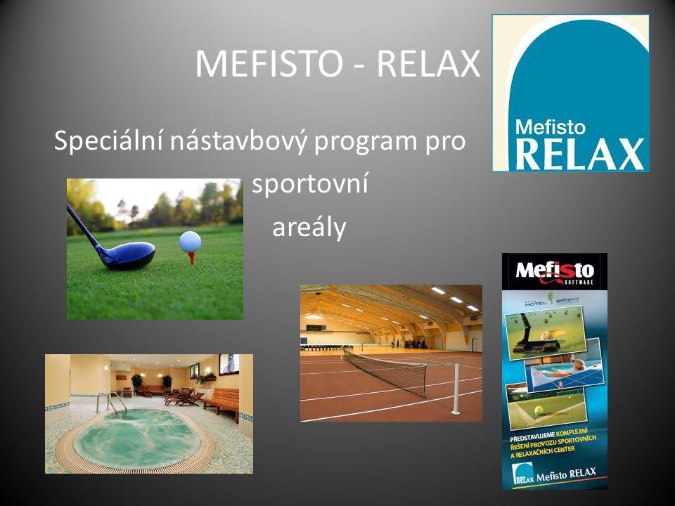 MEFISTO CAMPUS Speciální nástavbový program pro vysokoškolské koleje a menzy