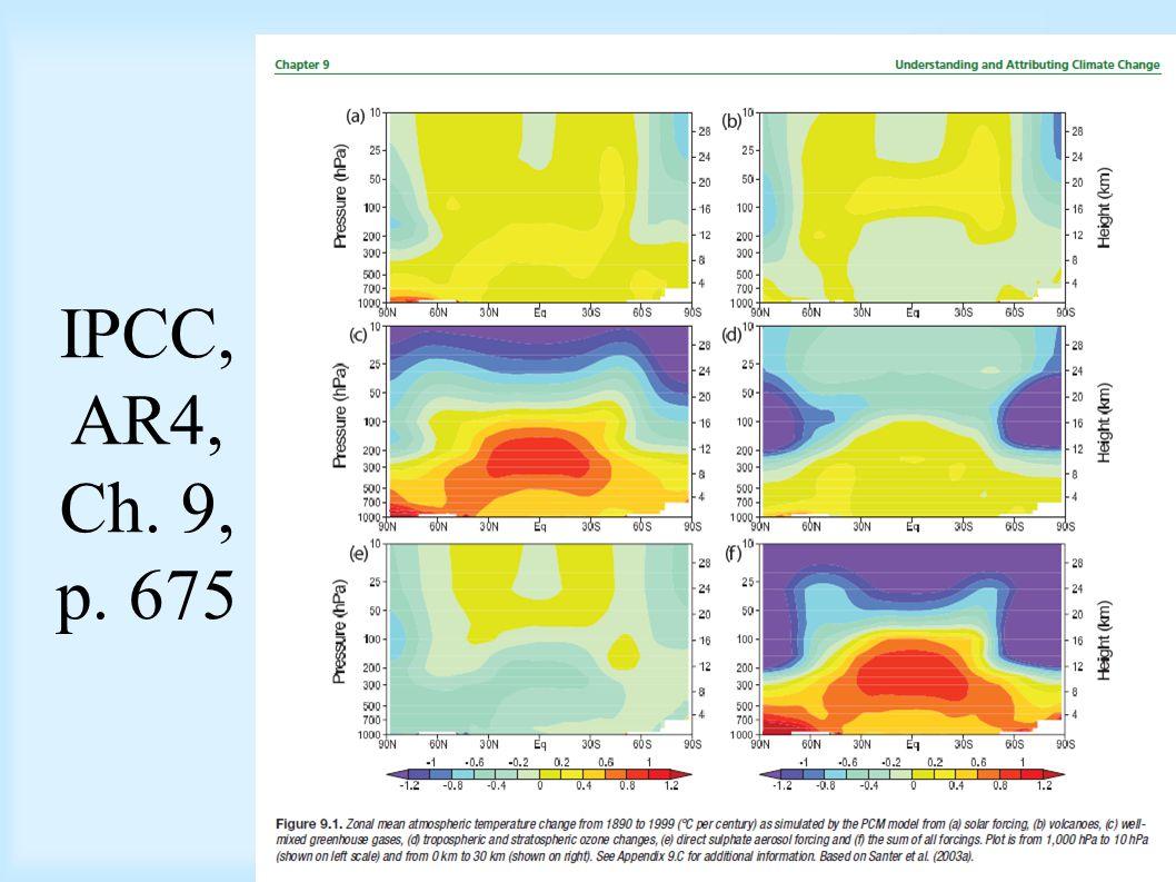 IPCC, AR4, Ch. 9, p. 675