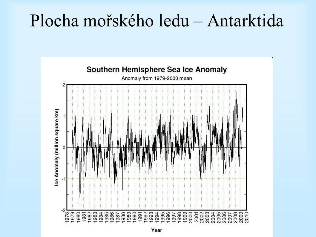 Plocha mořského ledu – Antarktida