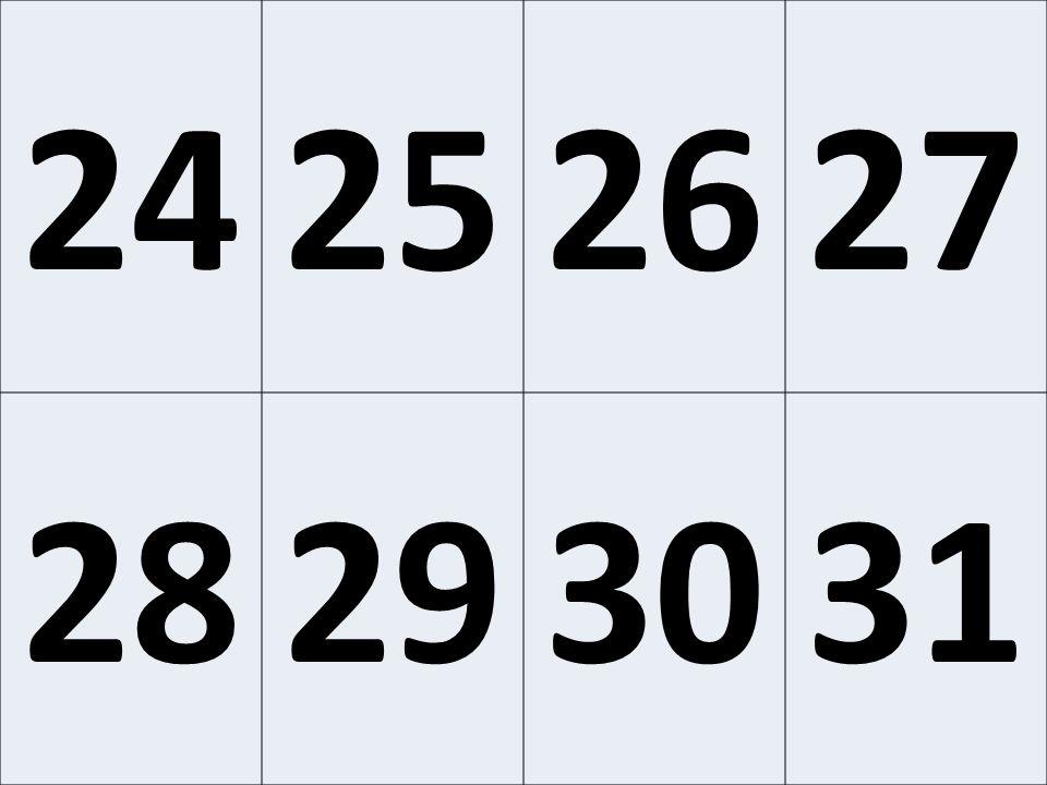 24252627 28293031