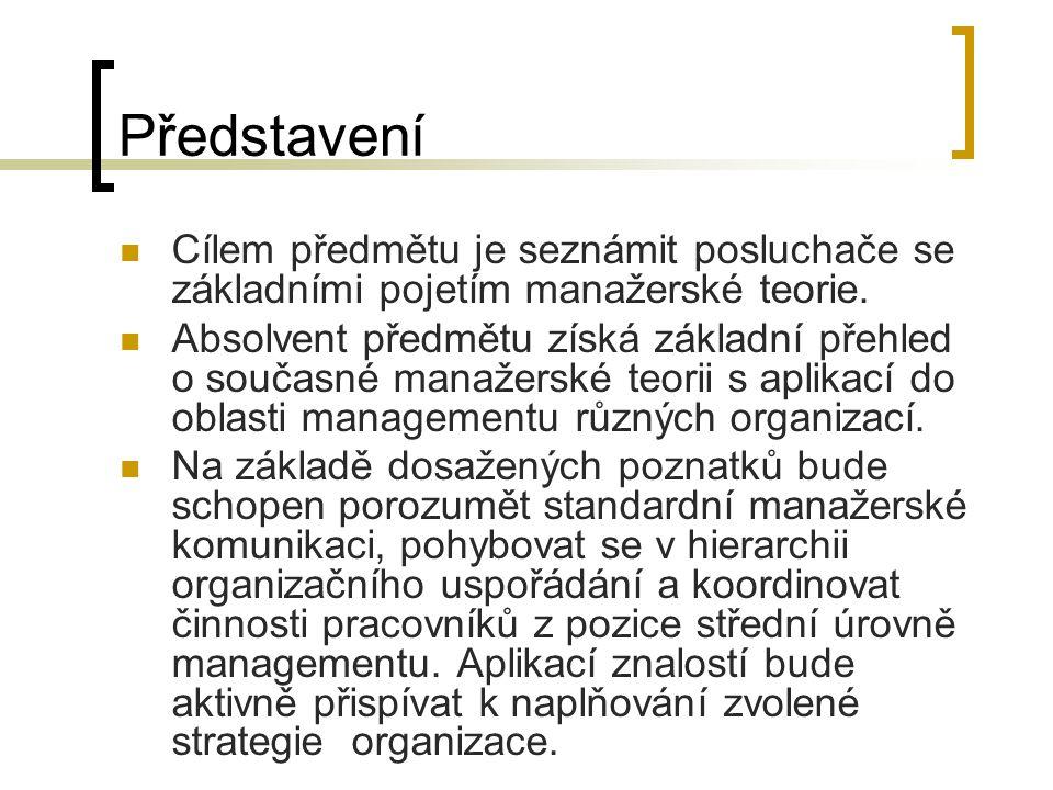 Termíny cvičení 19.9. 2011 – Cvičení I. Představení, organizace 3.