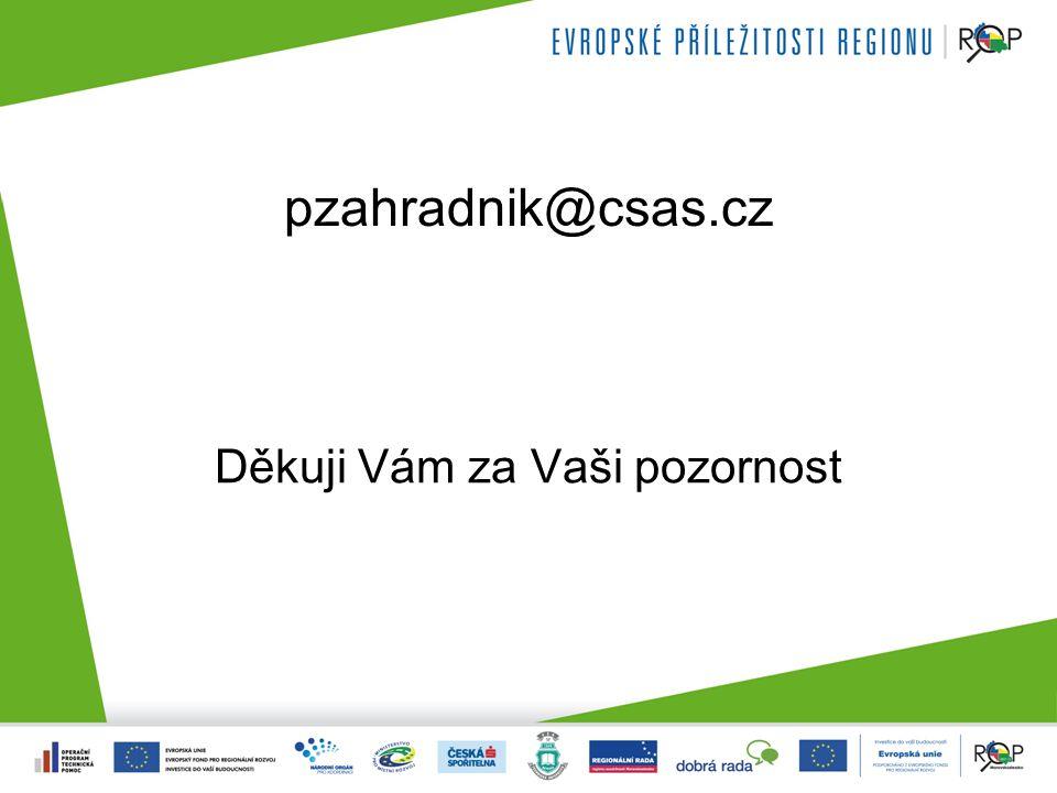 pzahradnik@csas.cz Děkuji Vám za Vaši pozornost